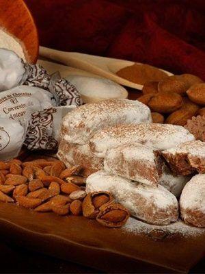 Polvorones con Almendra y Cacao | CAJA 1 KG